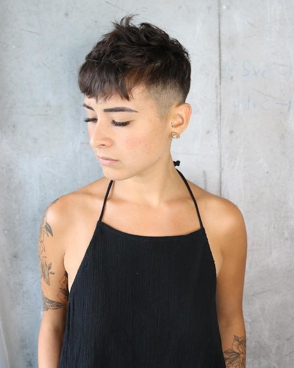 66 Shaved Hairstyles For Women That Turn Heads Everywhere Throughout Long Hairstyles With Shaved Sides (View 11 of 25)