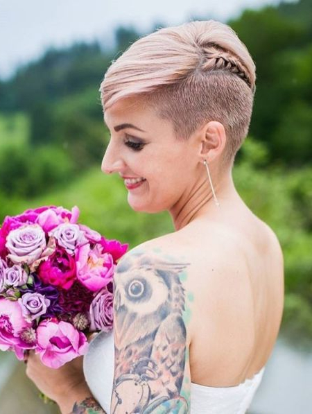 66 Shaved Hairstyles For Women That Turn Heads Everywhere Throughout Shaved Side Prom Hairstyles (View 13 of 25)