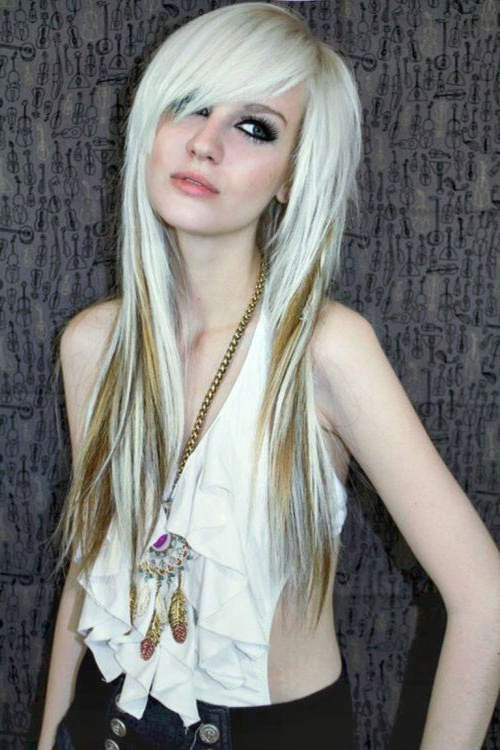 67 Emo Hairstyles For Girls: I Bet You Haven't Seen Before In Long Emo Hairstyles (View 4 of 25)