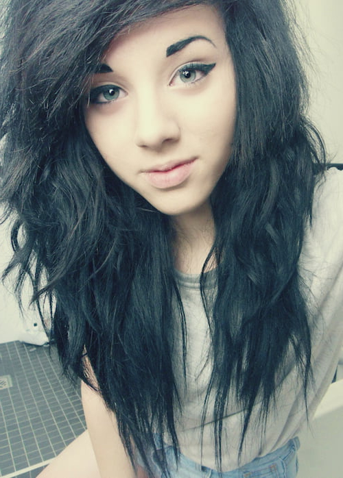 67 Emo Hairstyles For Girls: I Bet You Haven't Seen Before Regarding Long Hairstyles Emo (View 22 of 25)