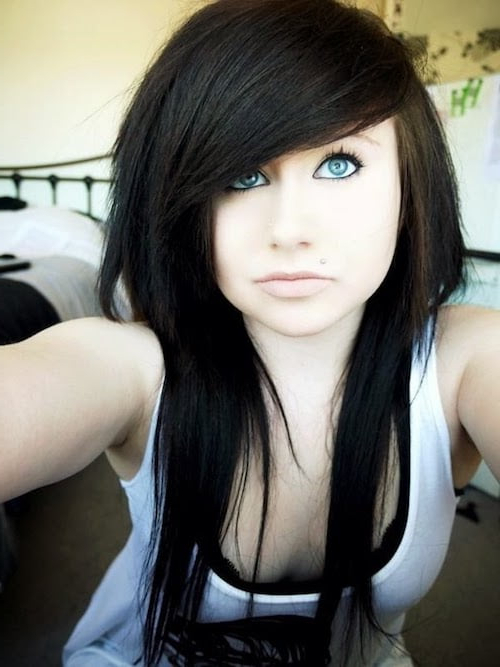 67 Emo Hairstyles For Girls: I Bet You Haven't Seen Before With Regard To Emo Long Hairstyles (View 15 of 25)