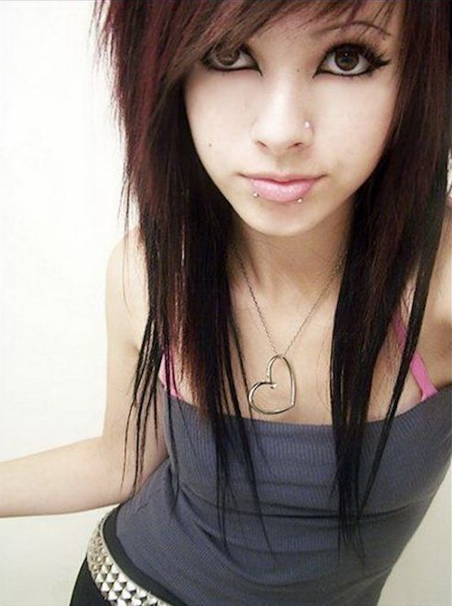 67 Emo Hairstyles For Girls (I Bet You Haven't Seen Them Before In For Emo Long Hairstyles (View 2 of 25)