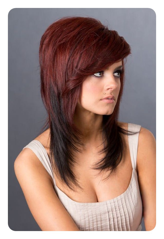 68 Long And Short Shag Haircuts For 2019 – Style Easily Inside Long Layered Shaggy Hairstyles (View 19 of 25)