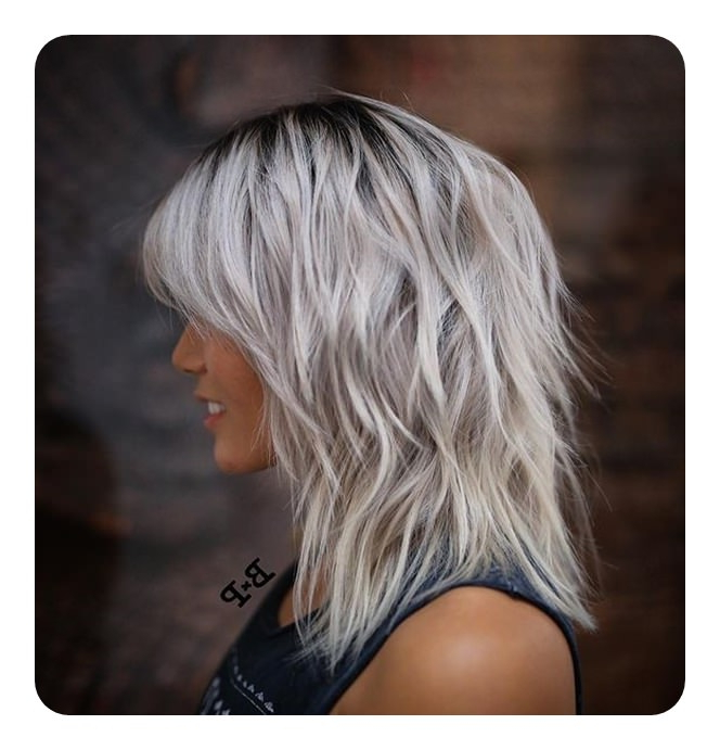 68 Long And Short Shag Haircuts For 2019 – Style Easily Intended For Medium Long Shaggy Hairstyles (View 17 of 25)