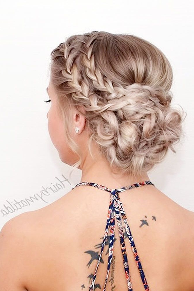 68 Stunning Prom Hairstyles For Long Hair For 2019 | Cute Hair With Regard To Braid Spikelet Prom Hairstyles (View 6 of 25)