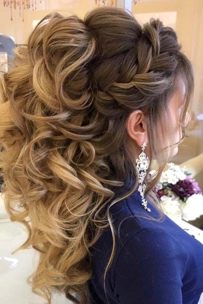 68 Stunning Prom Hairstyles For Long Hair For 2019 | Love Braids Within Braid Spikelet Prom Hairstyles (View 5 of 25)