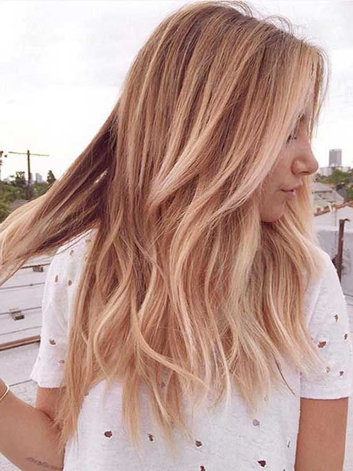 69 Cute Layered Hairstyles And Cuts For Long Hair | Hair & Beauty With Medium To Long Hairstyles (View 15 of 25)