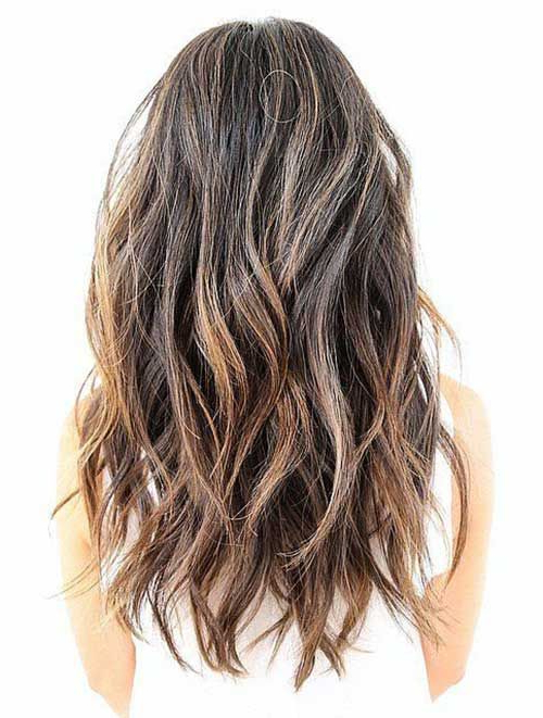 Featured Photo of Choppy Layers Long Hairstyles With Highlights