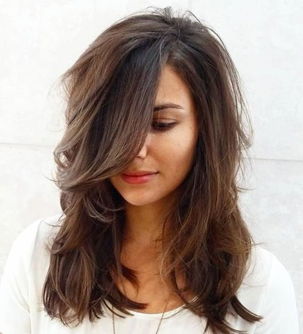 69 Gorgeous Ways To Make Layered Hair Pop Inside Long Haircuts With Layers And Bangs (View 23 of 25)