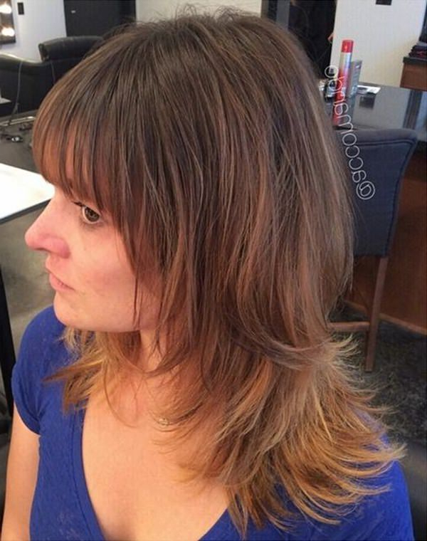 69 Gorgeous Ways To Make Layered Hair Pop Regarding Messy Layered Haircuts For Fine Hair (View 15 of 24)