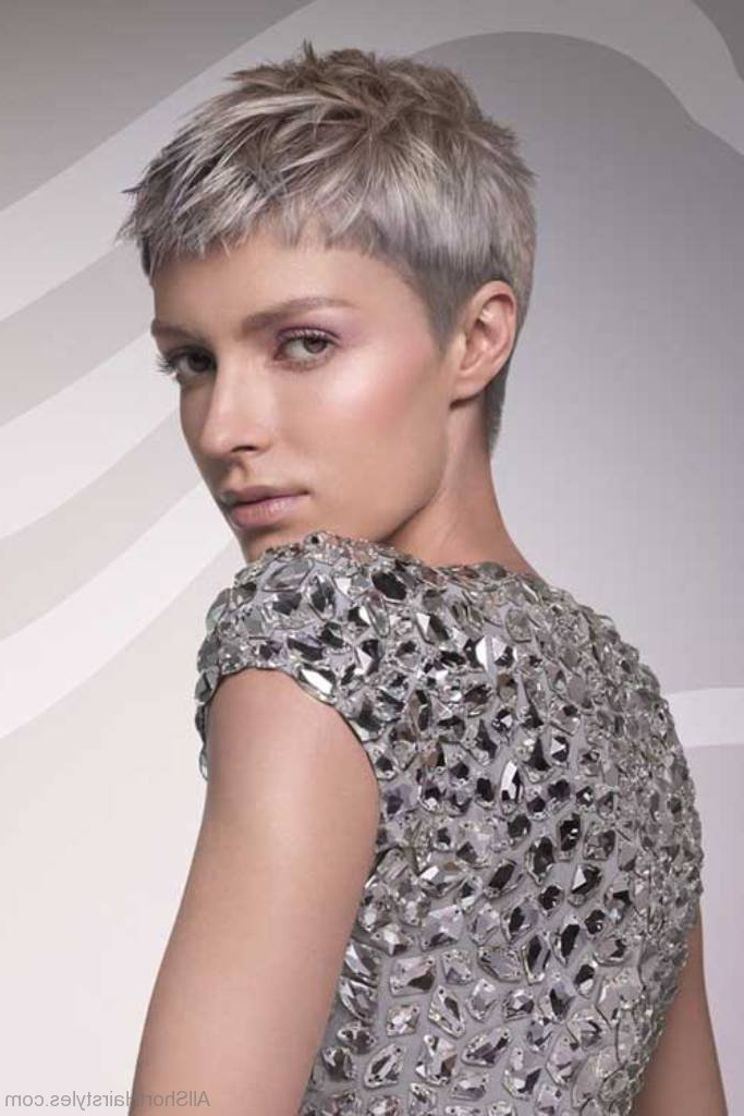 69 Short Hairstyles For Old Women Within Long Hairstyles For Grey Haired Woman (View 18 of 25)