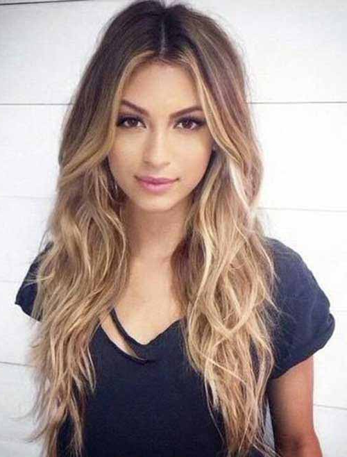 7 Gorgeous Long Hairstyles For Thin Hair | Stylish Hairstyles For Within Long Hairstyles For Thin Hair (View 11 of 25)