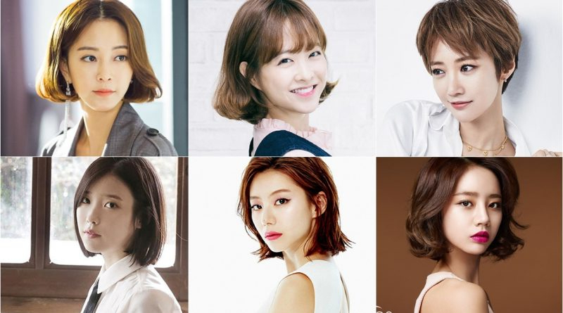 7+ Korean Star Short Hairstyle - Short Hairstyle - Beautiful pertaining to Long Hairstyles Korean Actress