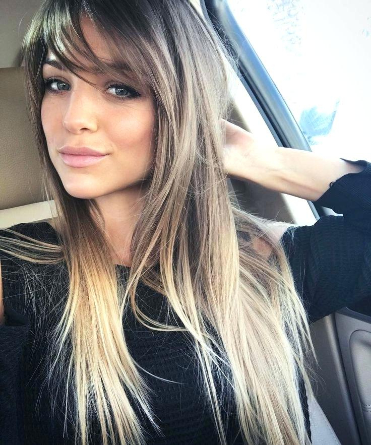 7+ Long Hairstyles With Side Bangs - Long Hairstyle - Beautiful inside Side Fringe Long Hairstyles