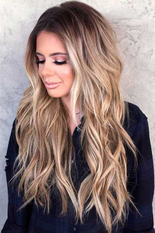 7.long Hairstyles Women - Styles 2018 within Long Hairstyles Women
