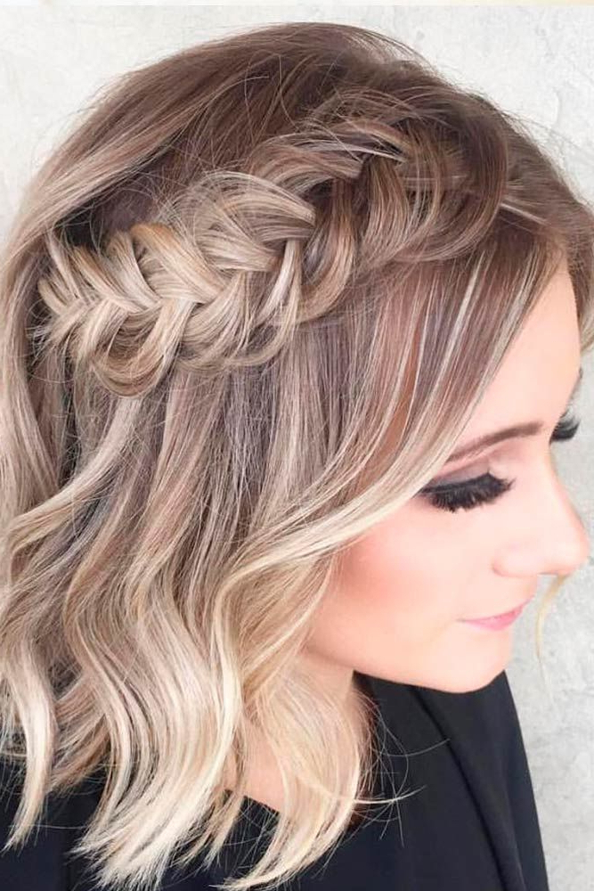 7+ Prom Hairstyles For Short Wavy Hair – Prom Hairstyle – Beautiful For Wavy Prom Hairstyles (View 23 of 25)