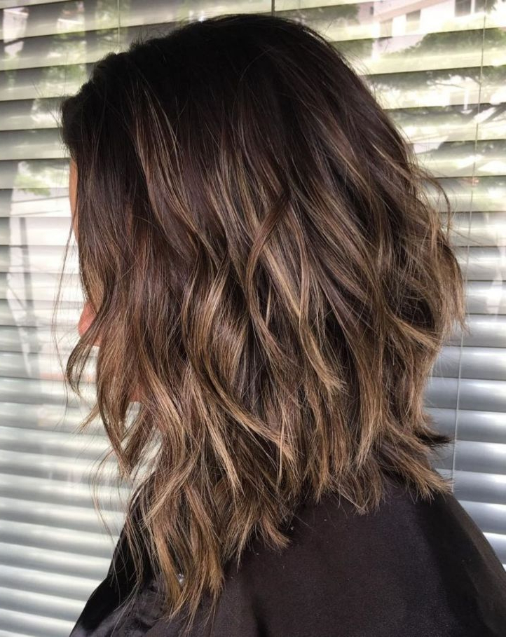 70 Brightest Medium Layered Haircuts To Light You Up | Hair With Long Choppy Haircuts With A Sprinkling Of Layers (View 2 of 25)