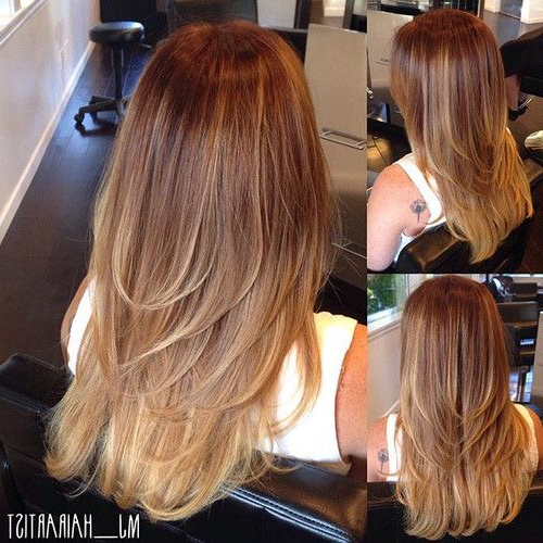 70 Devastatingly Cool Haircuts For Thin Hair | Makeup | Thin Hair Regarding Long Layered Haircuts For Fine Hair (View 13 of 25)