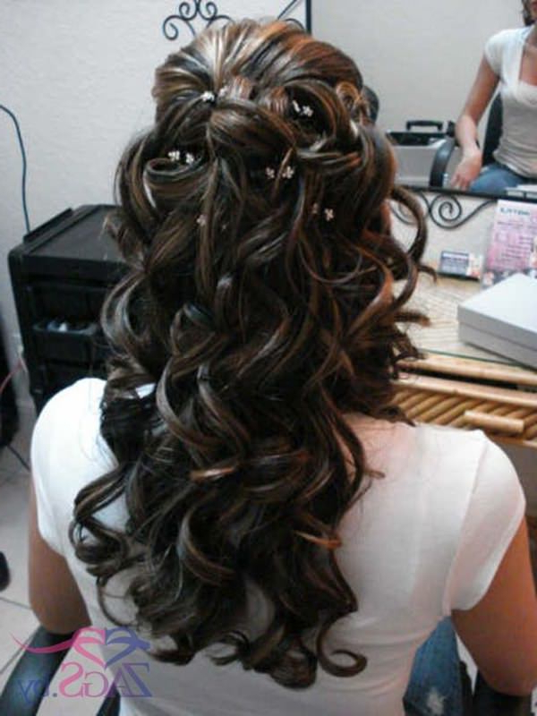 70 Prom Hair Ideas To Sparkle Like You Were A Queen Intended For Curled Floral Prom Updos (View 8 of 25)