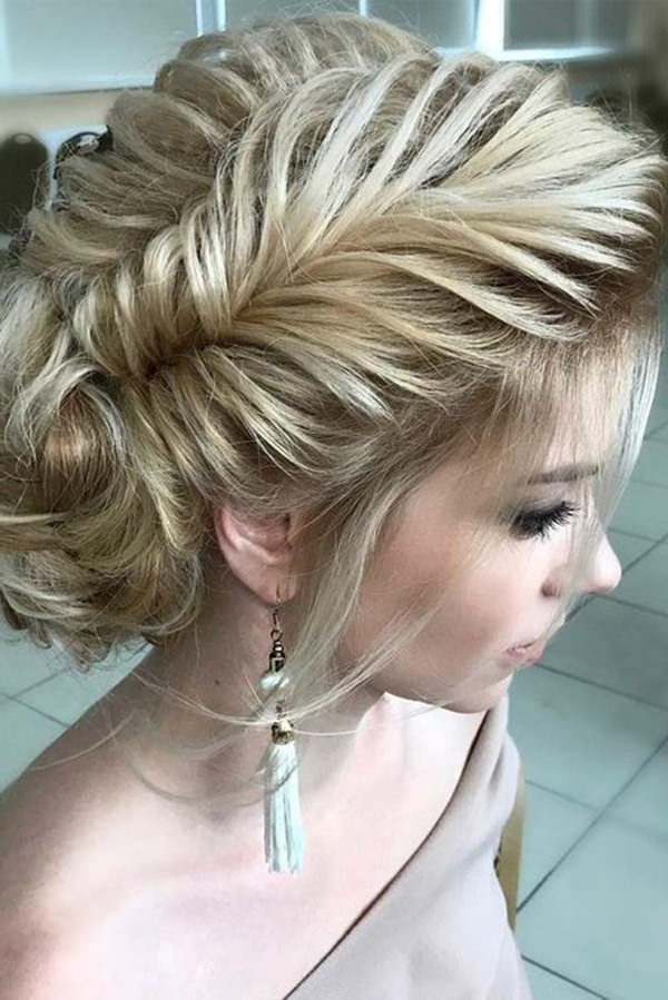 70 Prom Hair Ideas To Sparkle Like You Were A Queen Throughout Blooming French Braid Prom Hairstyles (View 19 of 25)