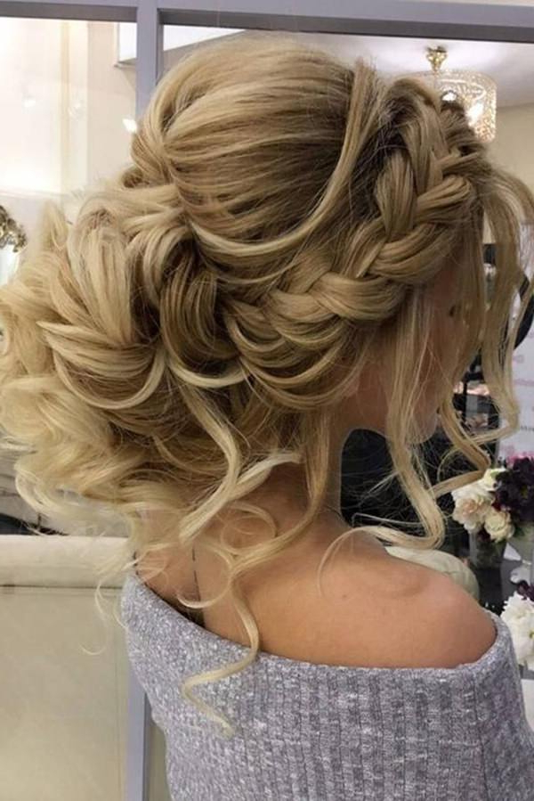70 Prom Hair Ideas To Sparkle Like You Were A Queen With Big Curly Bun Prom Updos (View 8 of 25)