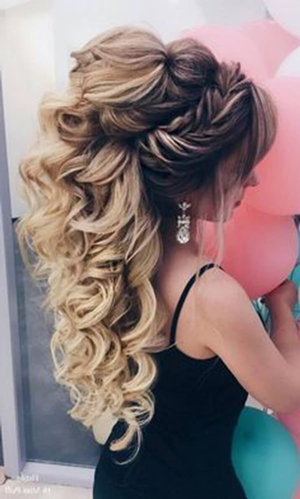 70 Prom Hair Ideas To Sparkle Like You Were A Queen with regard to Cascading Waves Prom Hairstyles For Long Hair