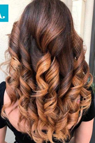 70+ Sexy Light Brown Hair Color Ideas | Lovehairstyles Inside Long Thick Black Hairstyles With Light Brown Balayage (View 13 of 25)