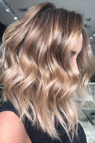 70+ Sexy Light Brown Hair Color Ideas | Lovehairstyles Intended For Curly Golden Brown Balayage Long Hairstyles (View 6 of 25)