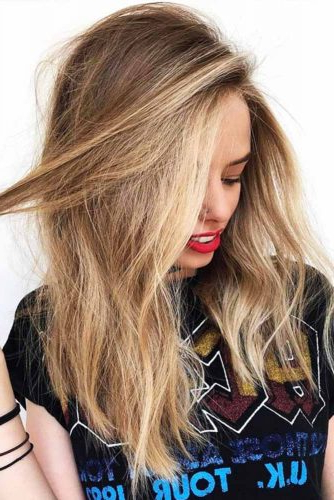 70+ Sexy Light Brown Hair Color Ideas | Lovehairstyles intended for Long Hairstyles Highlights And Lowlights
