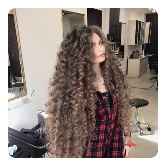 71 Alarming Perm Hairstyles To Rock Any Day For Long Permed Hairstyles With Bangs (View 13 of 25)