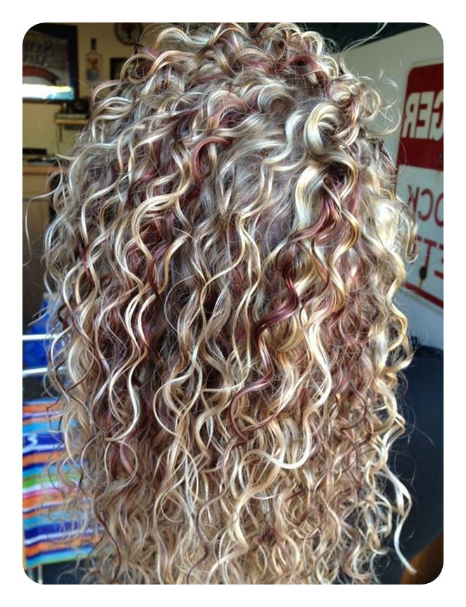 71 Alarming Perm Hairstyles To Rock Any Day with Long Permed Hair With Bangs