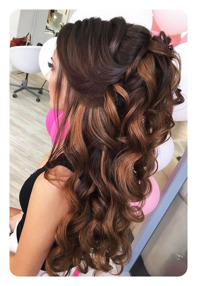 71 Unique Bridesmaid Hairstyles For The Big Day within Long Hairstyles For Wedding Party