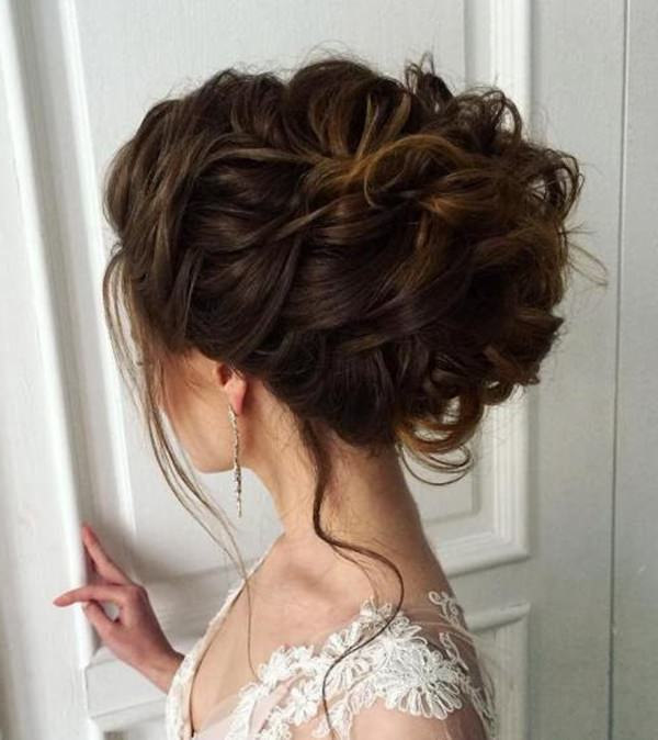 71 Wedding Hairstyles For Short, Medium & Long Hair – Style Easily Intended For Long Hairstyles Pulled Up (View 11 of 25)