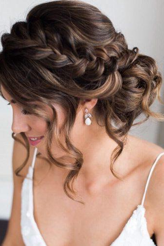72 Best Wedding Hairstyles For Long Hair 2019 | Wedding Forward Intended For Long Hairstyles Hair Up (View 19 of 25)