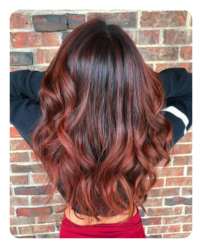 72 Stunning Red Hair Color Ideas With Highlights Intended For Long Hairstyles Red Highlights (View 10 of 25)