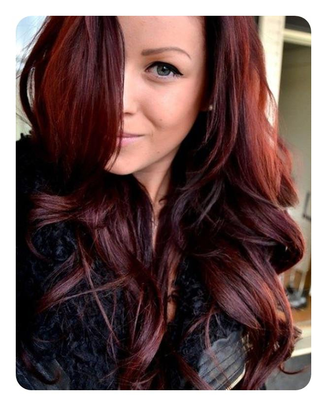 72 Stunning Red Hair Color Ideas With Highlights With Regard To Long Hairstyles Red Hair (View 20 of 25)