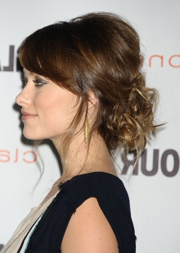 72 Stunningly Creative Updos For Long Hair Within Updo For Long Hair With Bangs (View 14 of 25)