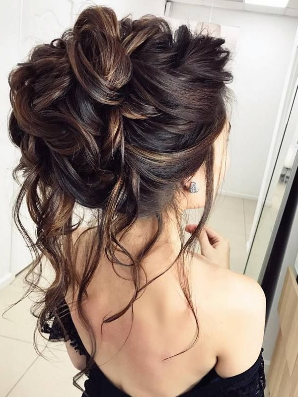 75 Chic Wedding Hair Updos For Elegant Brides | Vintage, Romantic Up in Classic Prom Updos With Thick Accent Braid