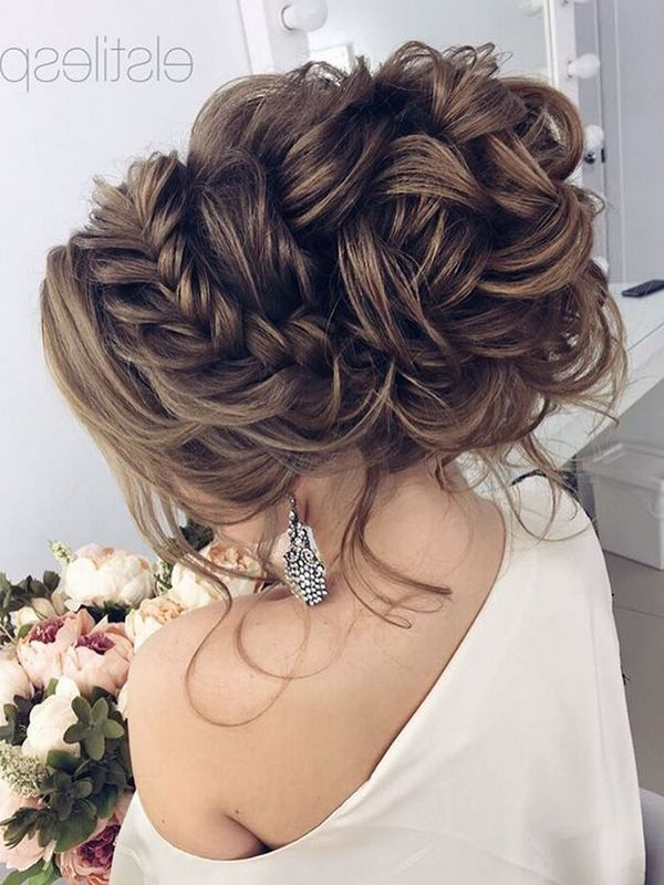 75 Chic Wedding Hair Updos For Elegant Brides | Wedding Hairstyles with regard to Long Hairstyles Updos For Wedding