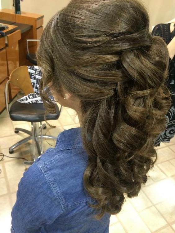 75 Cutest Quinceanera Hairstyles You Always Dreamed Of Within Long Hair Quinceanera Hairstyles (View 8 of 25)