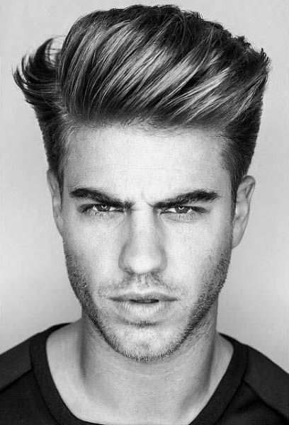 75 Men's Medium Hairstyles For Thick Hair – Manly Cut Ideas | Hair With Hairstyles Quiff Long Hair (View 6 of 25)