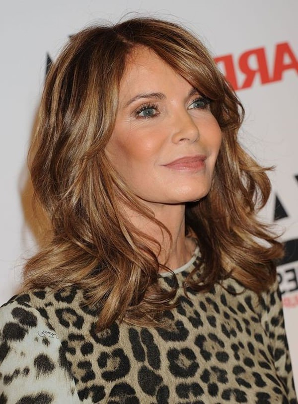 78 Gorgeous Hairstyles For Women Over 40 in Long Hairstyles Over 45