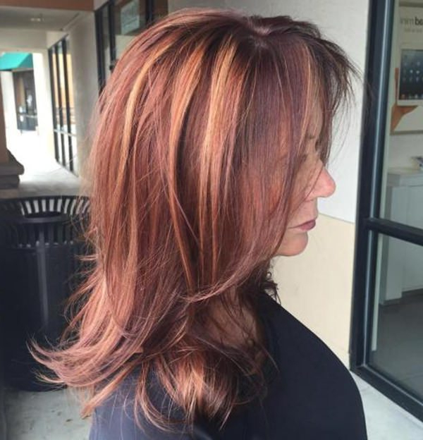 78 Gorgeous Hairstyles For Women Over 40 regarding Long Haircuts For Women Over 40