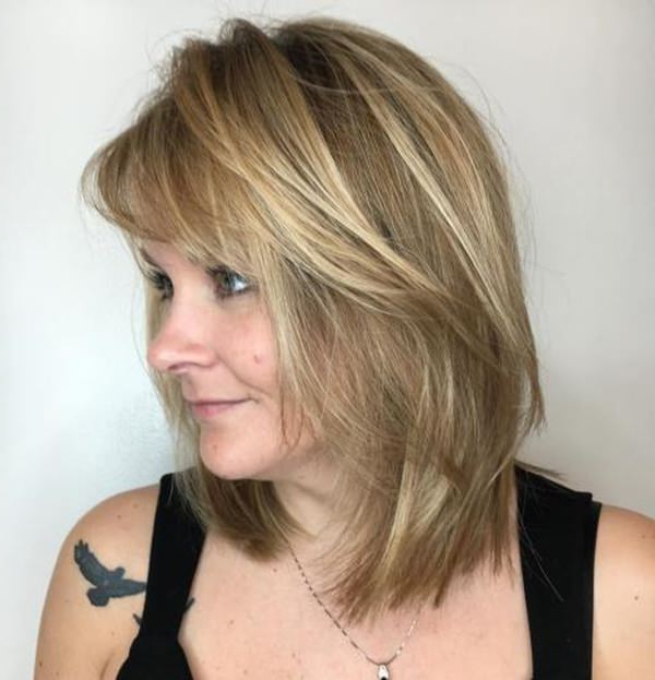 78 Gorgeous Hairstyles For Women Over 40 with Long Hairstyles For Women Over 40 With Bangs