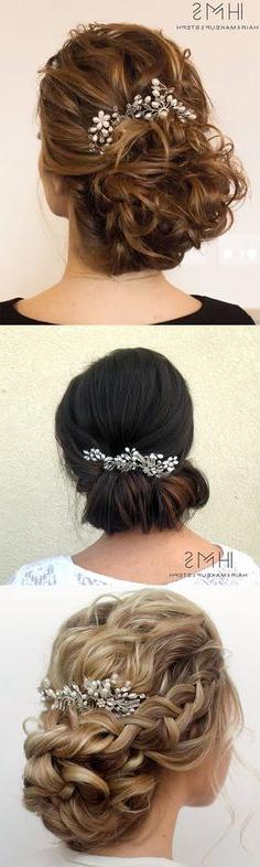 791 Best Up Styles/formal Hair Images | Bridal Hair, Hair Makeup regarding Sculpted Orchid Bun Prom Hairstyles