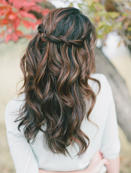 8 Cute Waterfall Twist Tutorial: Long Hairstyles Ideas - Pretty Designs with Long Hairstyles Cute