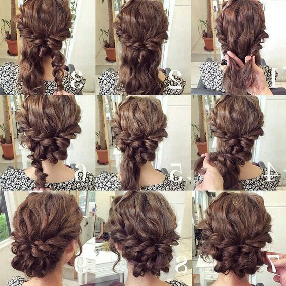 8+ Easy Updos For Long Hair Prom – Prom Hairstyle – Beautiful Throughout Easy Curled Prom Updos (View 3 of 25)