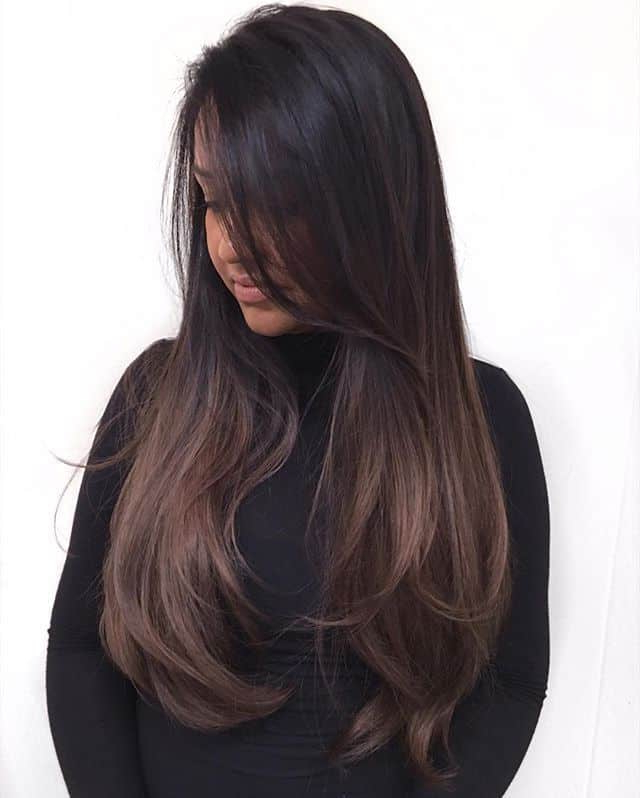 8 Gorgeous & Glamorous Long Brunette Hair – Hairstylecamp with regard to Brunette Long Hairstyles