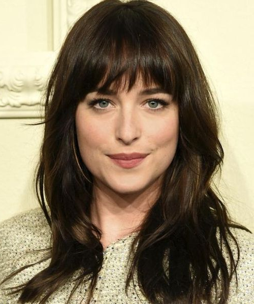 8 Of The Most Stunning Full Fringe Hairstyles 2018 For Women With throughout Full Fringe Long Hairstyles