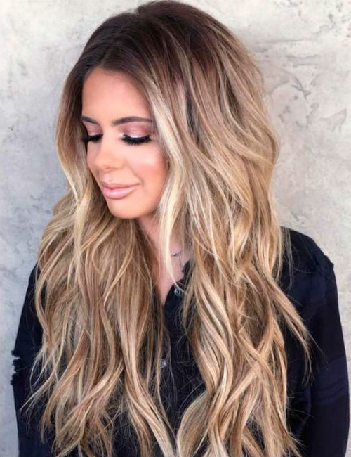 8 Of The Textured Long Layered Hairstyles For Women To Get A Jaw In Long Jaw Hairstyles (View 24 of 25)